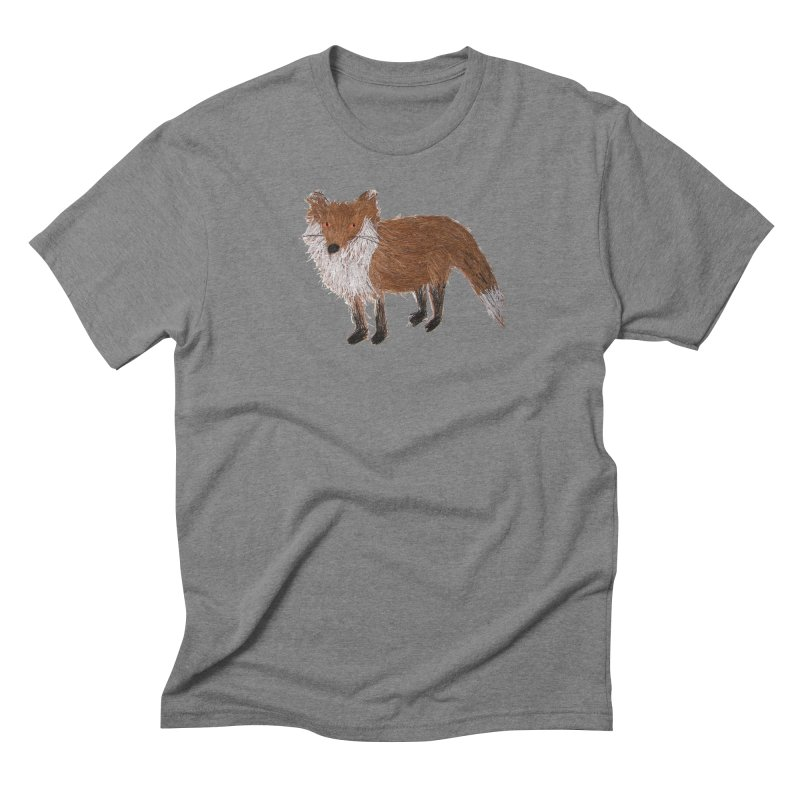 Mr. Pine Needle Fox Men's Triblend T-Shirt by Christinah