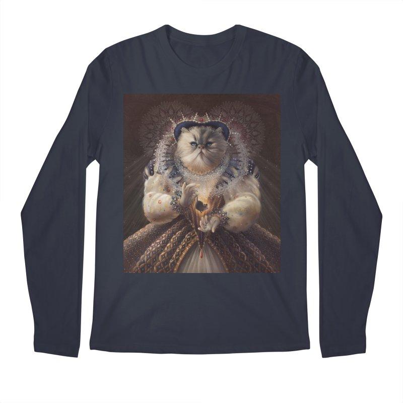 Queen Elhissabeth Men's Longsleeve T-Shirt by christinahess's Artist Shop