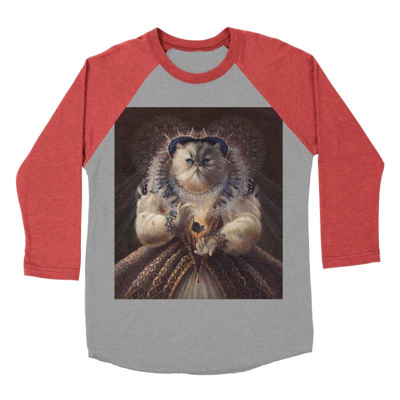 Queen Elhissabeth Women's Baseball Triblend T-Shirt by christinahess's Artist Shop