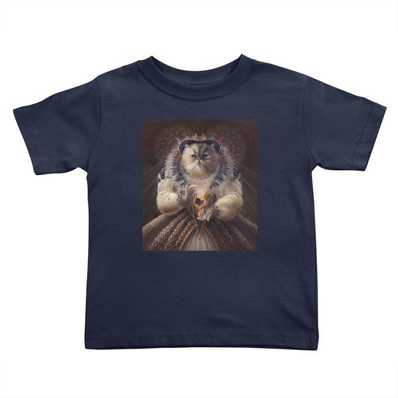 Queen Elhissabeth Kids Toddler T-Shirt by christinahess's Artist Shop