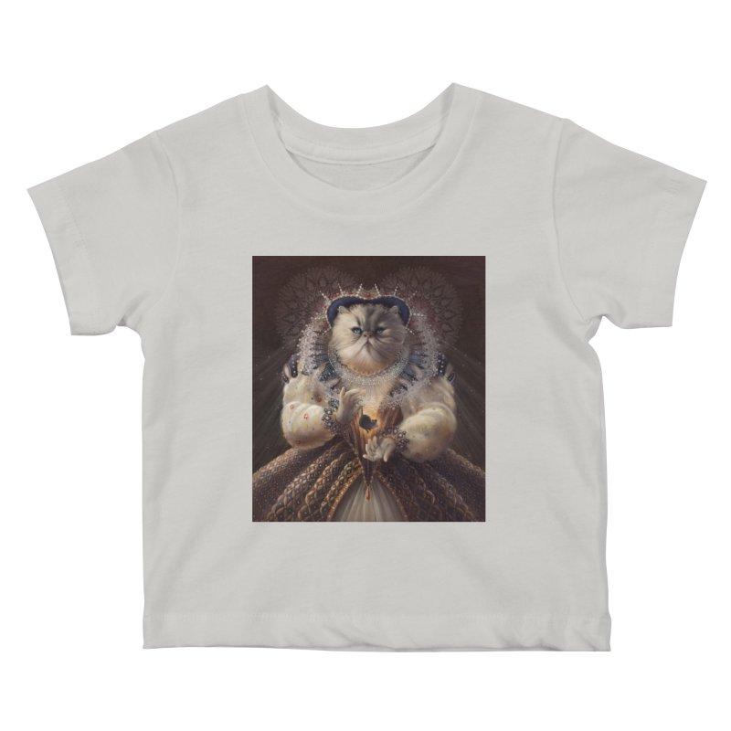 Queen Elhissabeth Kids Baby T-Shirt by christinahess's Artist Shop