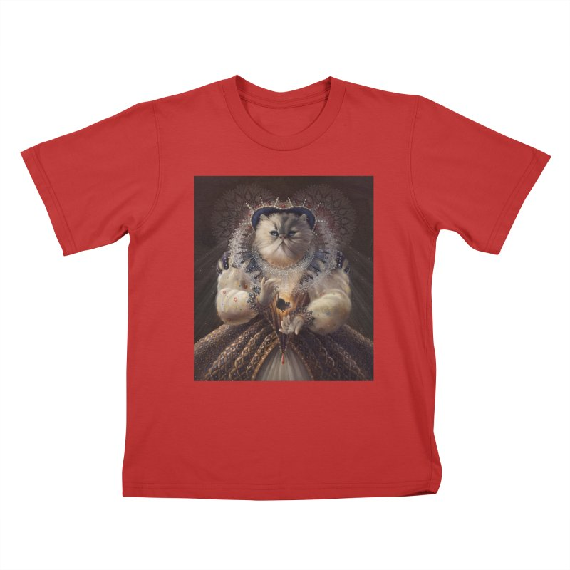 Queen Elhissabeth Kids T-Shirt by christinahess's Artist Shop