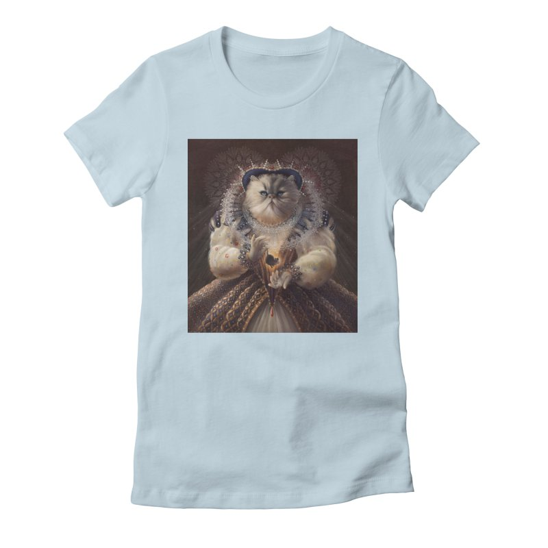 Queen Elhissabeth Women's Fitted T-Shirt by christinahess's Artist Shop