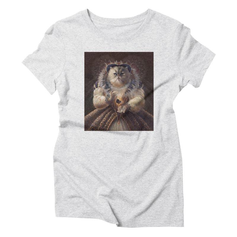 Queen Elhissabeth Women's Triblend T-Shirt by christinahess's Artist Shop