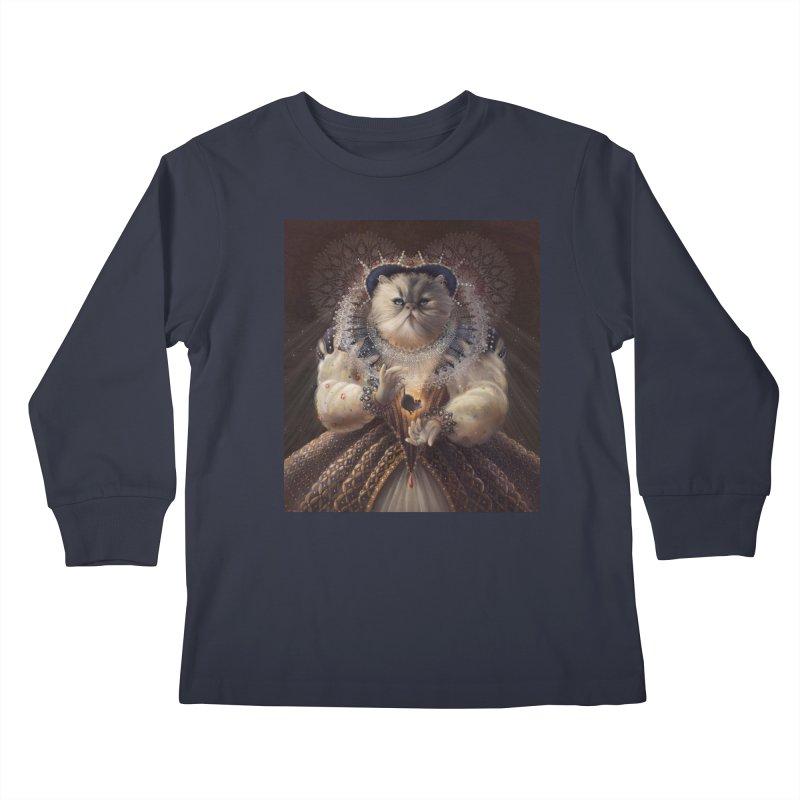 Queen Elhissabeth Kids Longsleeve T-Shirt by christinahess's Artist Shop
