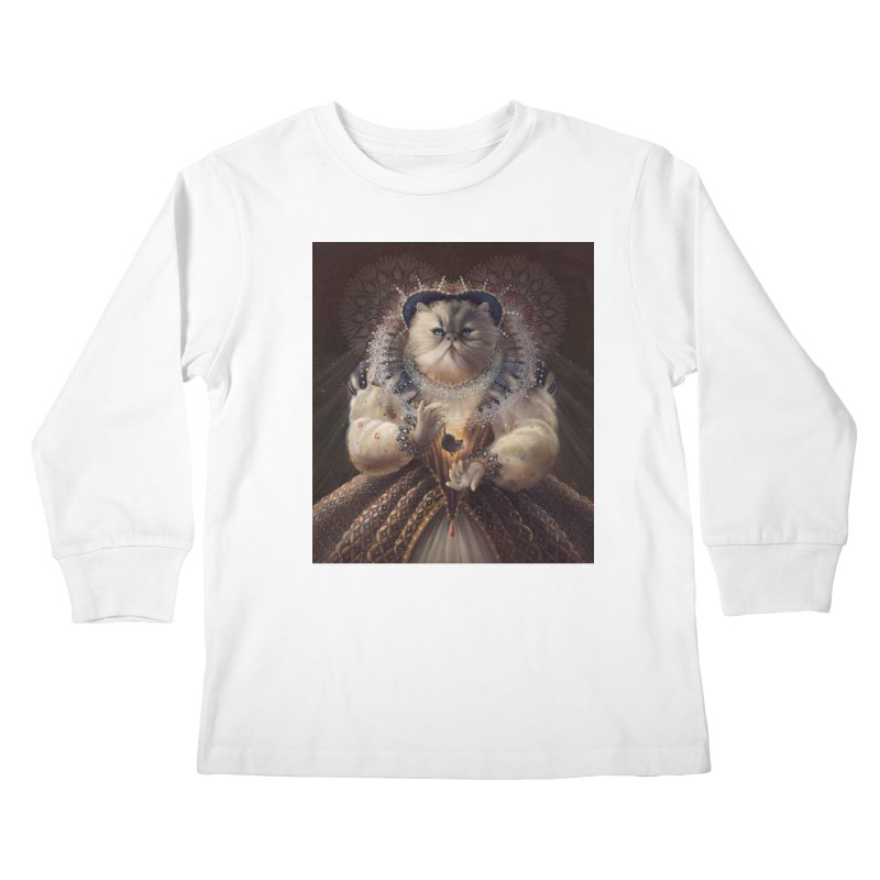 Queen Elhissabeth Kids Longsleeve T-Shirt by christinahess's Artist Shop