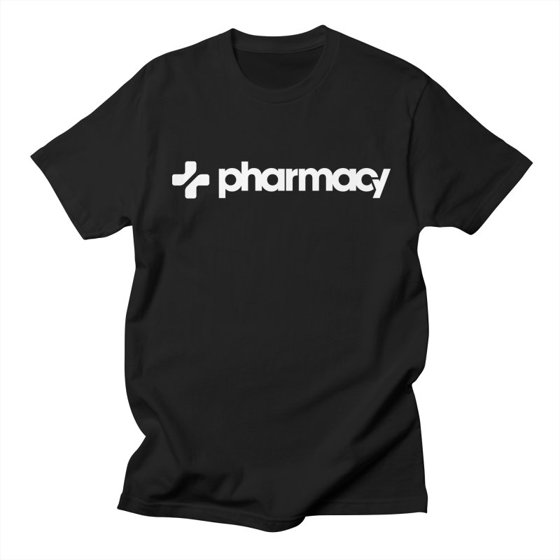 Pharmacy Music Men's T-shirt by Christopher Lawrence