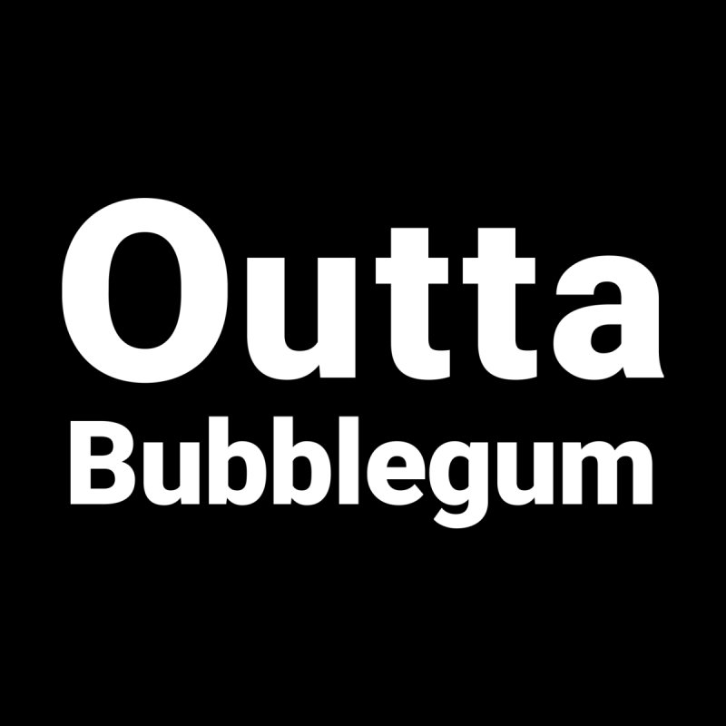 Outta Bubblegum Men's T-Shirt by Christy Claymore Shop