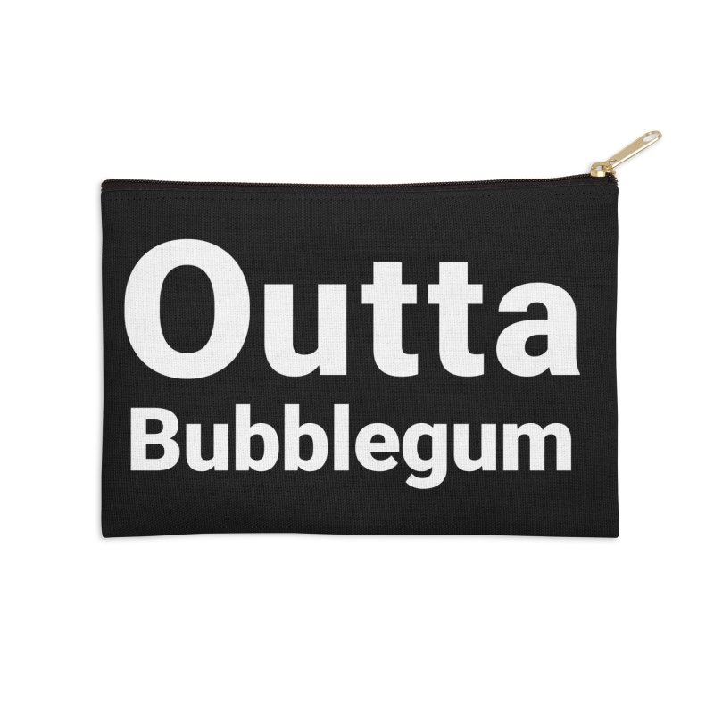 Outta Bubblegum Accessories Zip Pouch by Christy Claymore Shop