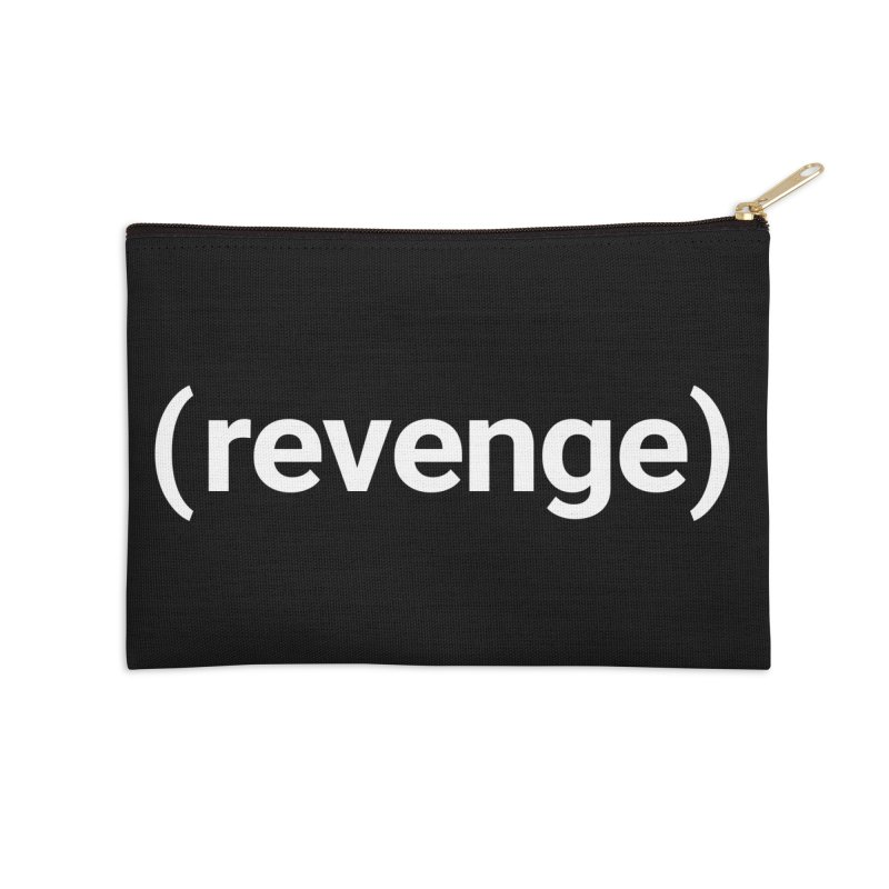 (revenge) Accessories Zip Pouch by Christy Claymore Shop