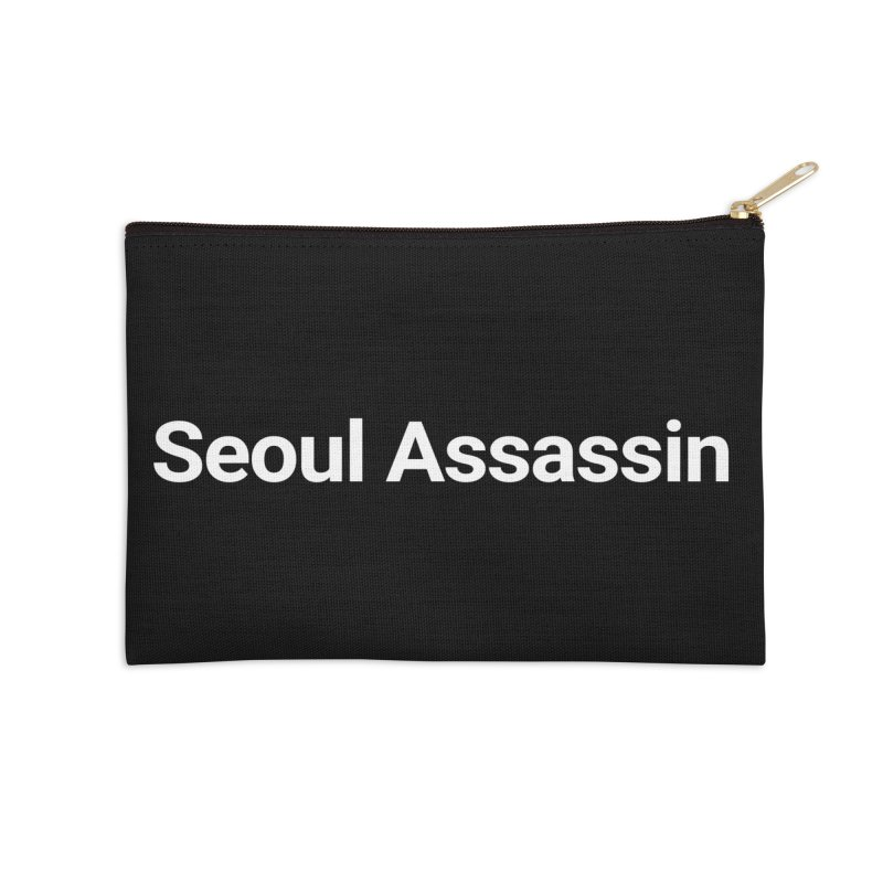 Seoul Assassin Accessories Zip Pouch by Christy Claymore Shop