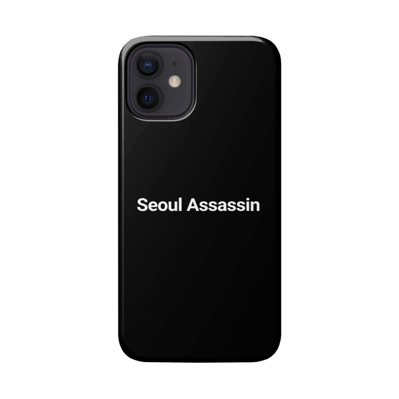 Seoul Assassin Accessories Phone Case by Christy Claymore Shop