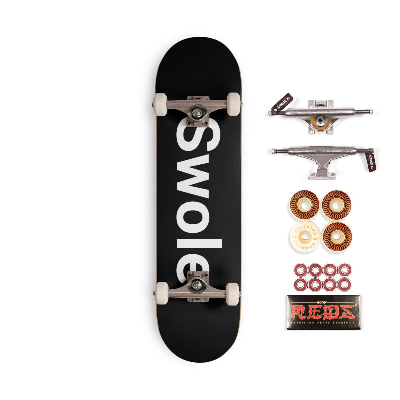 Swole Accessories Skateboard by Christy Claymore Shop