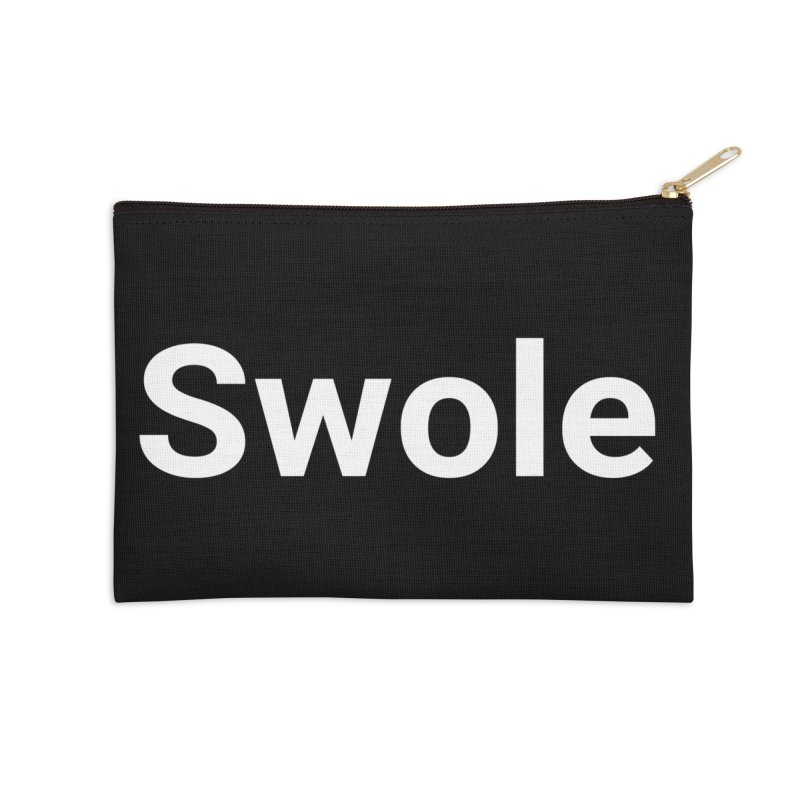 Swole Accessories Zip Pouch by Christy Claymore Shop