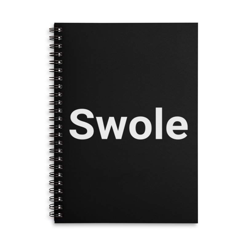 Swole Accessories Notebook by Christy Claymore Shop