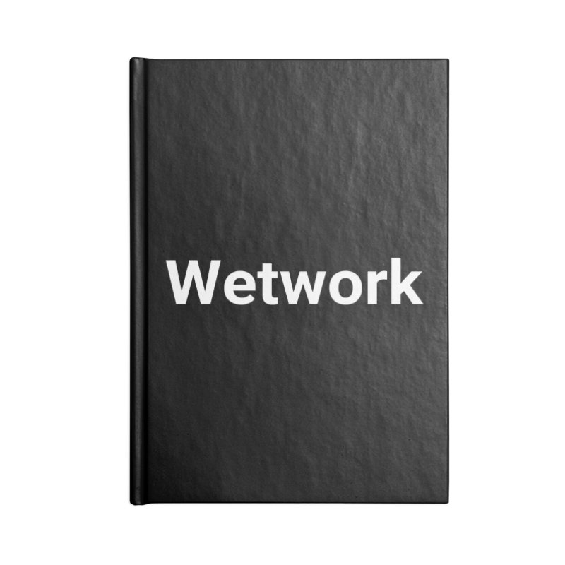 Wetwork Accessories Notebook by Christy Claymore Shop