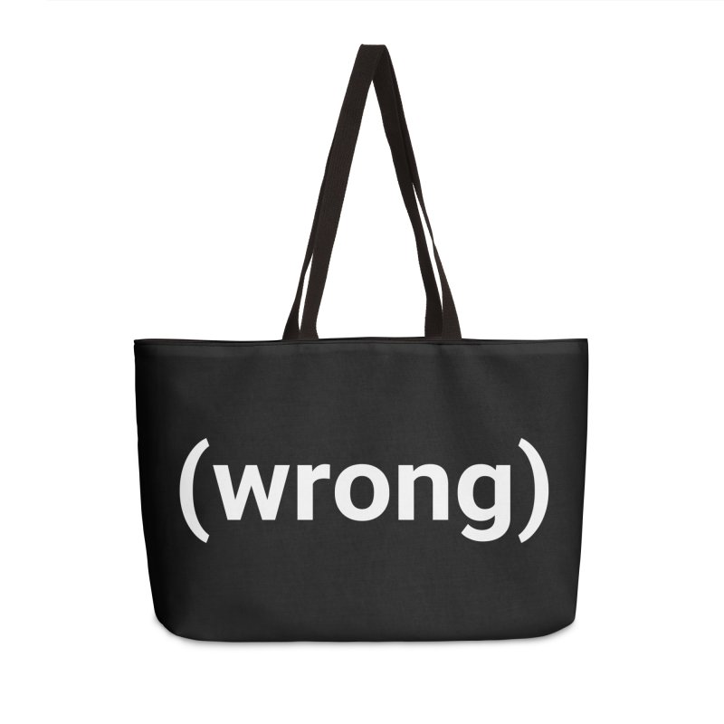 (wrong) Accessories Bag by Christy Claymore Shop