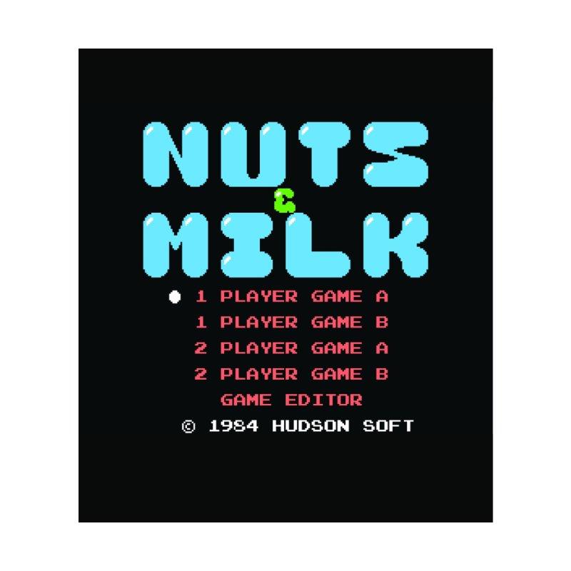 NUTS MILK by CHRIS VIG'S SHIRTSTUFFS