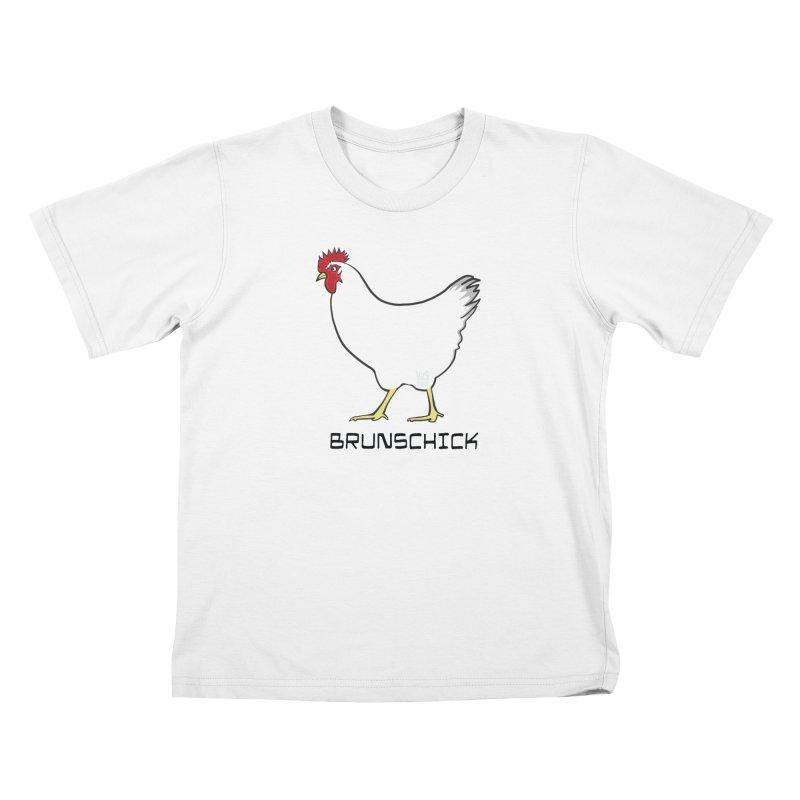 Brunschick, The Brunswick Chicken Kids T-Shirt by CHRIS VIG'S SHIRTSTUFFS