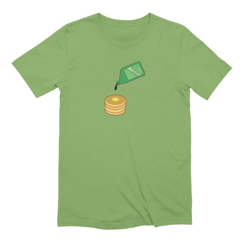 Pancake Mistake Men's T-Shirt by CHRIS VIG'S SHIRTSTUFFS