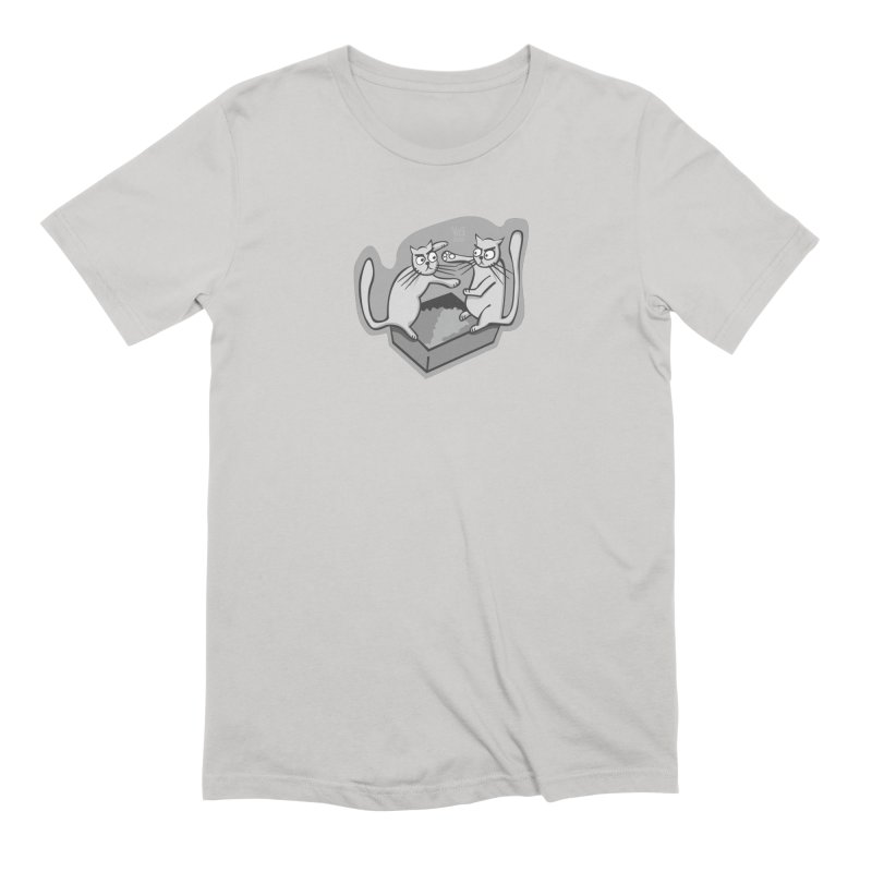 Catbox Catastrophe Men's T-Shirt by CHRIS VIG'S SHIRTSTUFFS