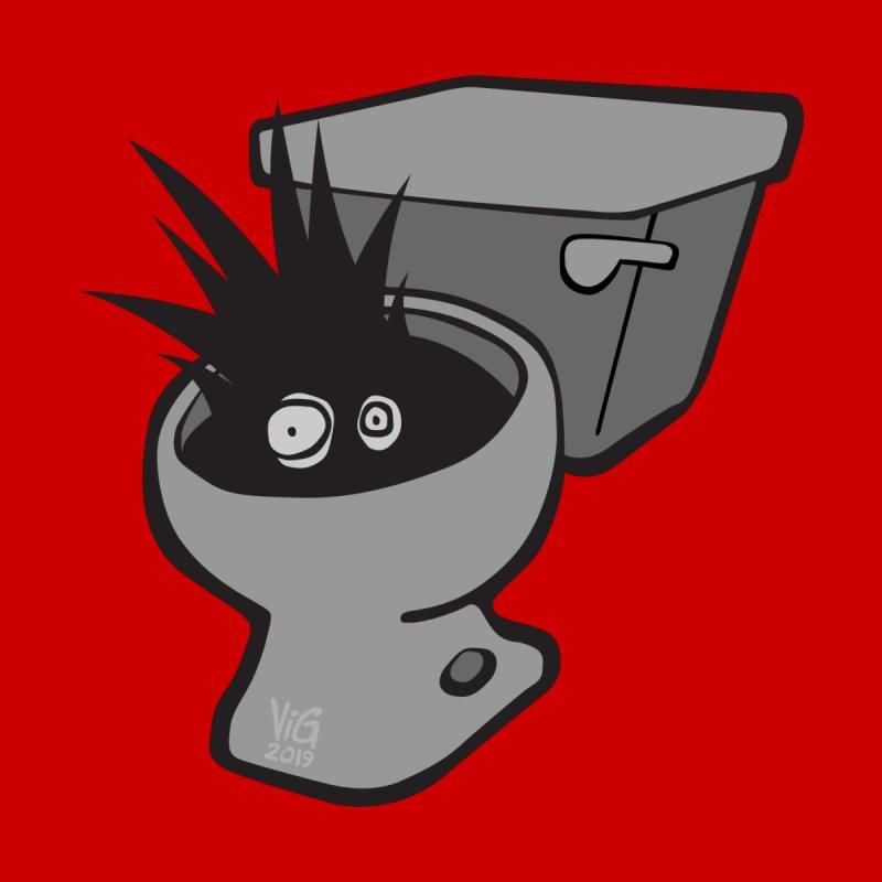 Toilet Terror by chrisvig's Artist Shop
