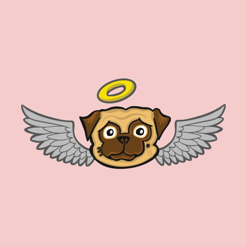 Angel Pug by CHRIS VIG'S SHIRTSTUFFS