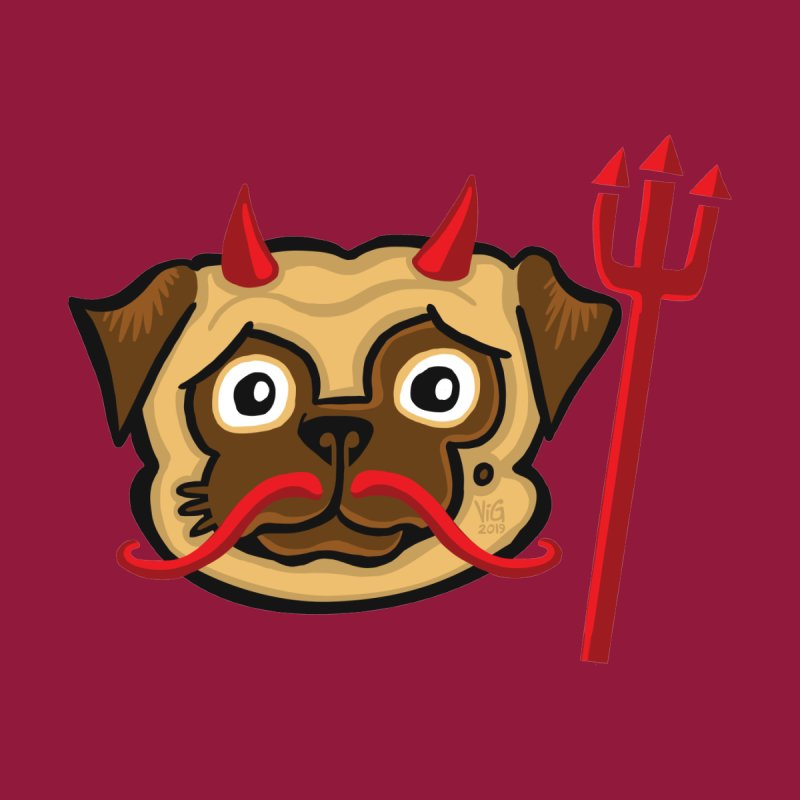 Devil Pug by CHRIS VIG'S SHIRTSTUFFS