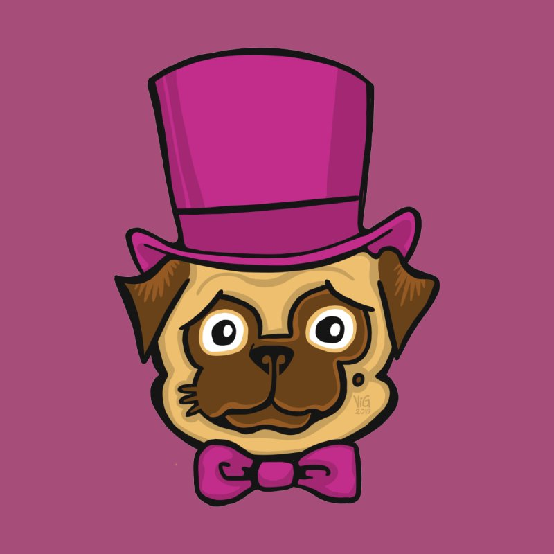 Fancy Pug by CHRIS VIG'S SHIRTSTUFFS