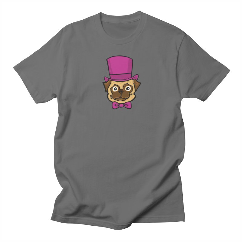 Fancy Pug Men's T-Shirt by CHRIS VIG'S SHIRTSTUFFS