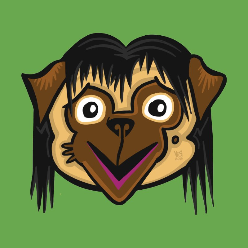 Momo Pug by CHRIS VIG'S SHIRTSTUFFS