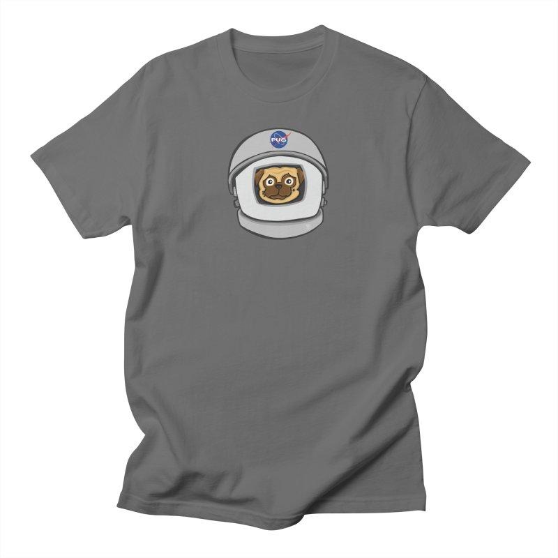 Space Pug Men's T-Shirt by CHRIS VIG'S SHIRTSTUFFS
