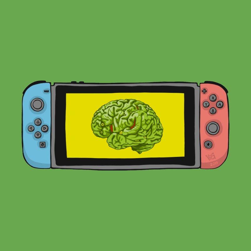 Braintendo Switch by CHRIS VIG'S SHIRTSTUFFS