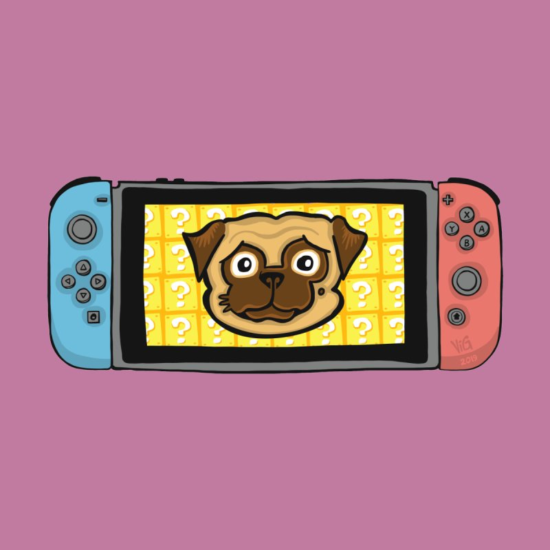 Pugtendo Switch by CHRIS VIG'S SHIRTSTUFFS