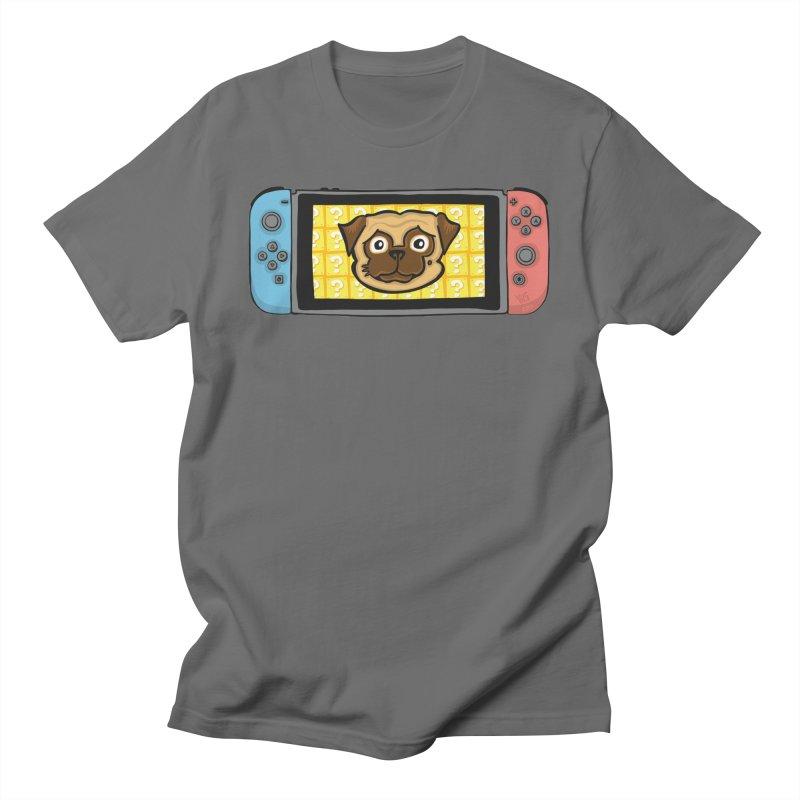 Pugtendo Switch Men's T-Shirt by CHRIS VIG'S SHIRTSTUFFS