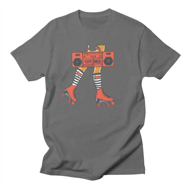 Boom Box Men's T-Shirt by CHRIS VIG'S SHIRTSTUFFS