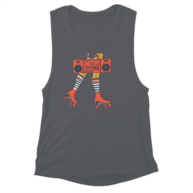 Boom Box Women's Tank by CHRIS VIG'S SHIRTSTUFFS