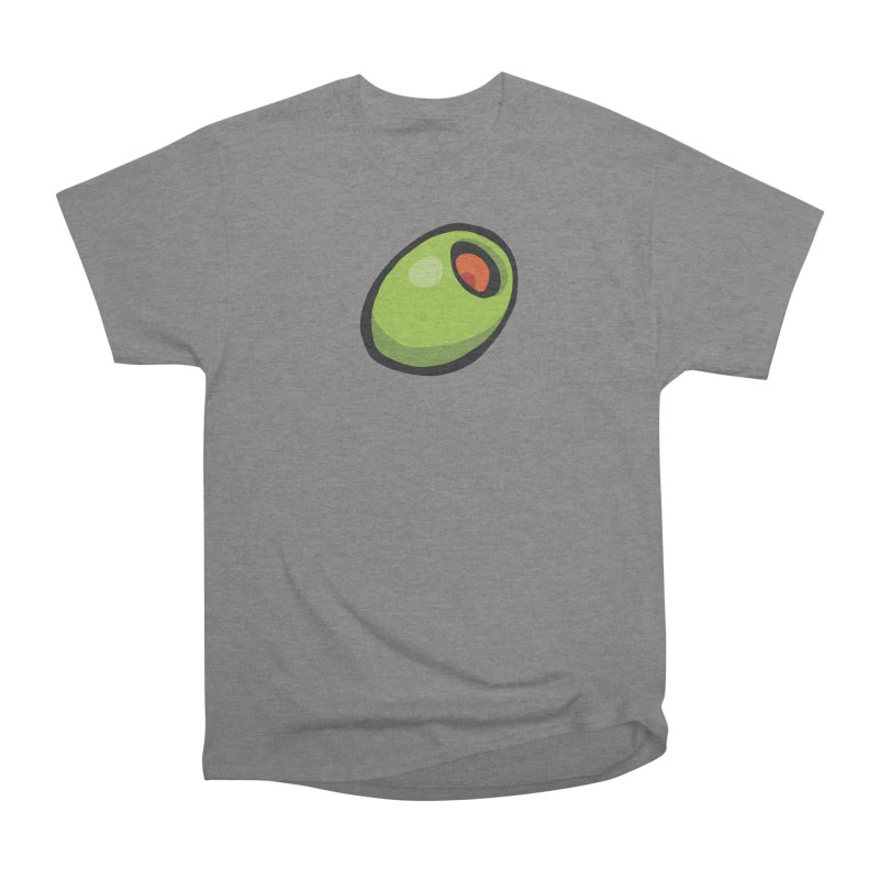 Olive Men's Heavyweight T-Shirt by CHRIS VIG'S SHIRTSTUFFS