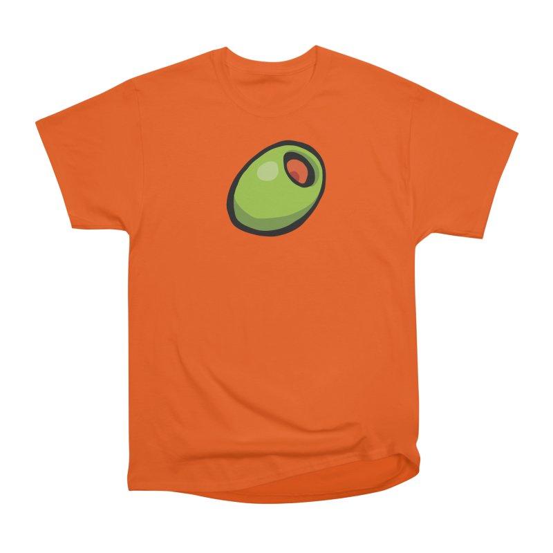 Olive Women's Heavyweight Unisex T-Shirt by CHRIS VIG'S SHIRTSTUFFS