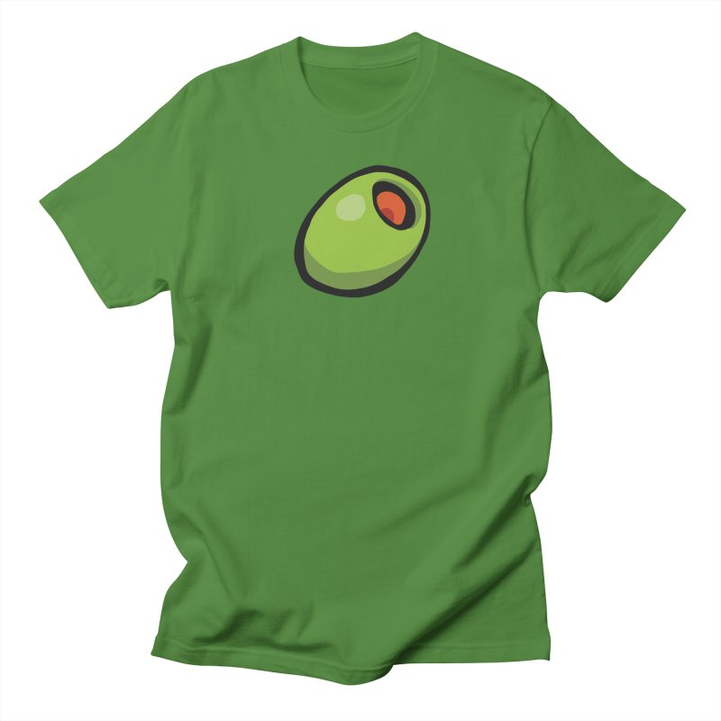 Olive Men's Regular T-Shirt by CHRIS VIG'S SHIRTSTUFFS