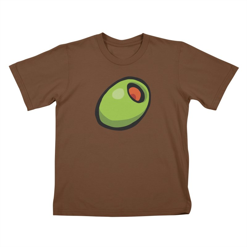 Olive Kids T-Shirt by CHRIS VIG'S SHIRTSTUFFS