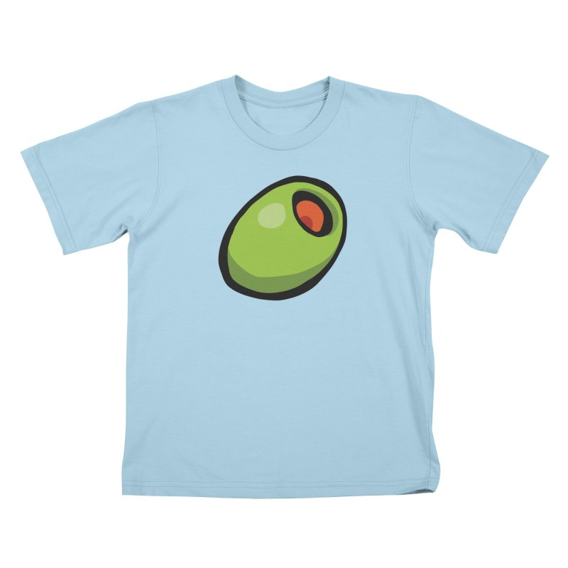 Olive Kids T-Shirt by CHRIS VIG'S SHIRTSTUFFS