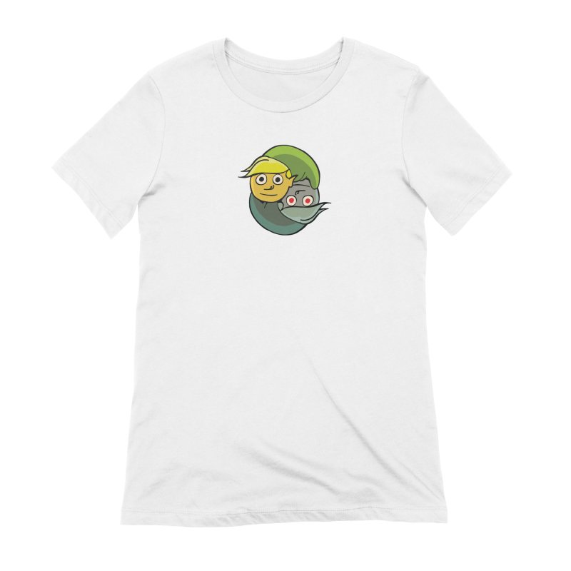 The Light And Darkness Of Link Women's Extra Soft T-Shirt by CHRIS VIG'S SHIRTSTUFFS