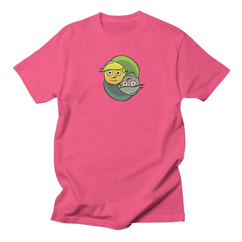 The Light And Darkness Of Link Women's Regular Unisex T-Shirt by CHRIS VIG'S SHIRTSTUFFS