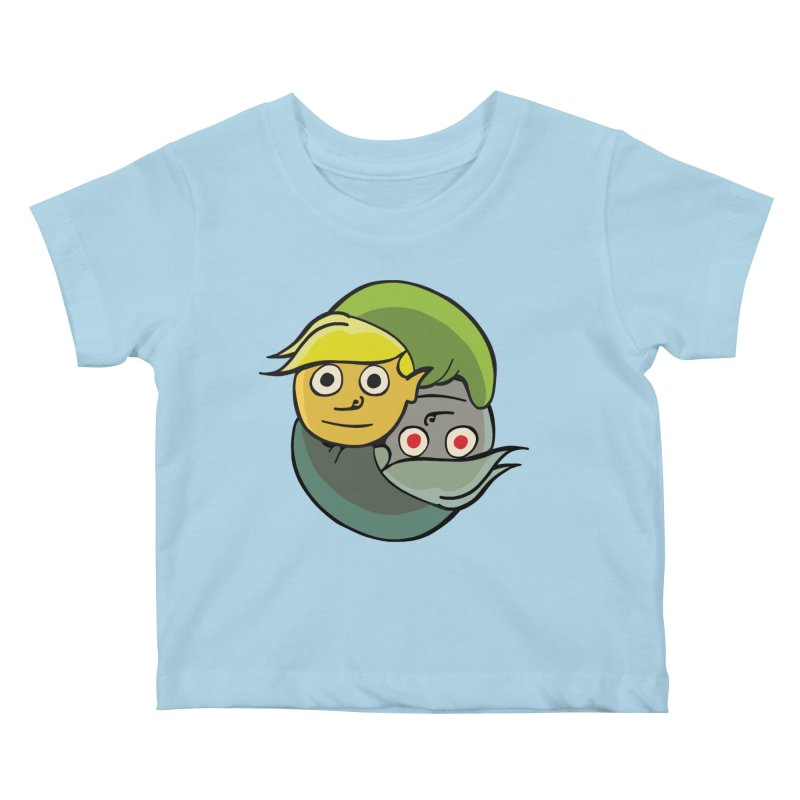 The Light And Darkness Of Link Kids Baby T-Shirt by CHRIS VIG'S SHIRTSTUFFS