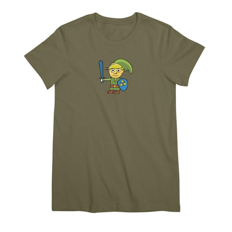 Adventure Awaits Women's Premium T-Shirt by CHRIS VIG'S SHIRTSTUFFS