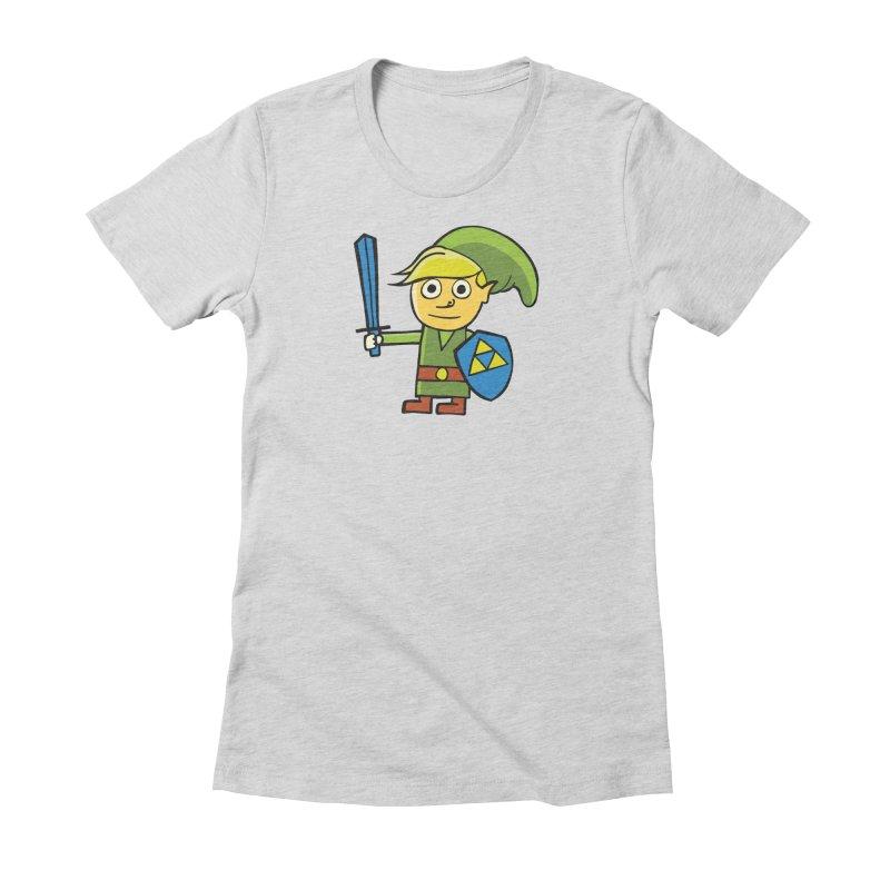 Adventure Awaits Women's Fitted T-Shirt by CHRIS VIG'S SHIRTSTUFFS