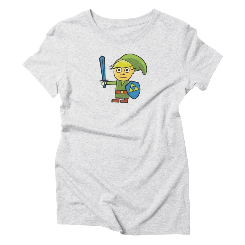 Adventure Awaits Women's Triblend T-Shirt by CHRIS VIG'S SHIRTSTUFFS