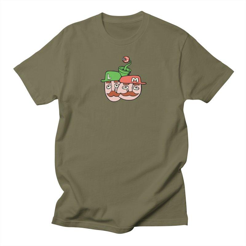 Bros Women's Regular Unisex T-Shirt by CHRIS VIG'S SHIRTSTUFFS