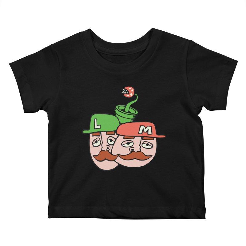 Bros Kids Baby T-Shirt by CHRIS VIG'S SHIRTSTUFFS